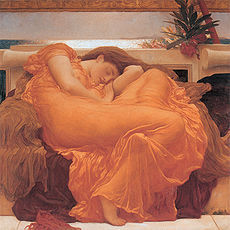 230px-flaming_june_by_fredrick_lord_leighton_1830-1896